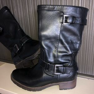 Sonoma Shoes - Sonoma Side Zipper Buckle Casual Mid Calf Boots